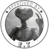 "Tampon ""Approved by E.T"""