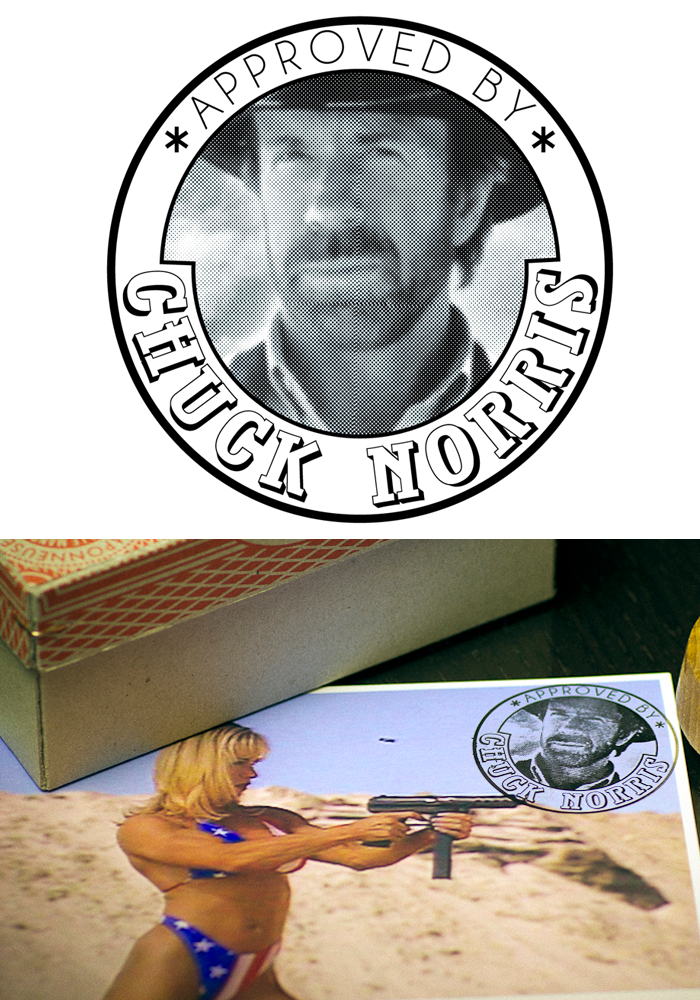 Tampon Chuck Norris
