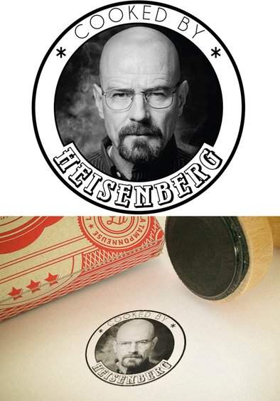 "Tampon ""Cooked by Heisenberg"""