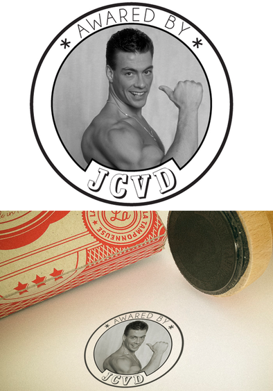 "Tampon ""Awared by JCVD"""
