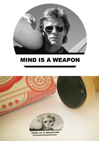 "Tampon MacGyver ""Mind is a weapon"""