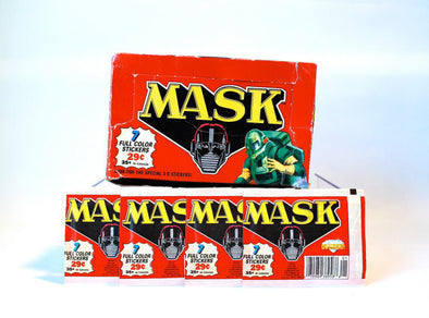 Paquets stickers collection Mask 1987 - 7 stickers