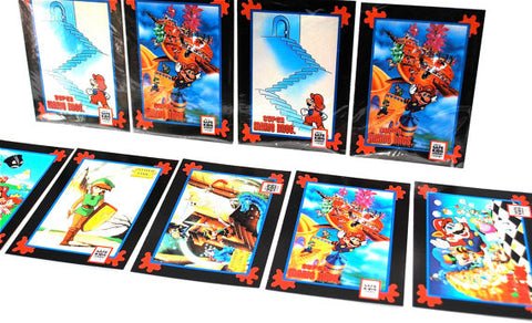 Sets cartes collection Nintendo Impel 1991 - 6 cartes