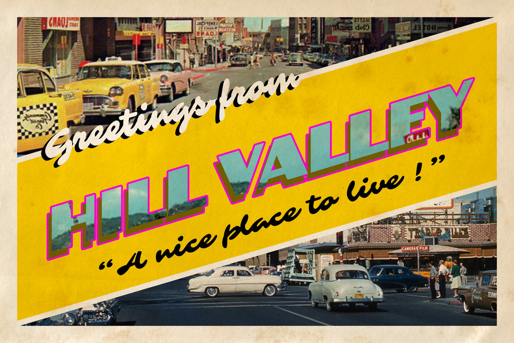 Carte Postale Hill Valley