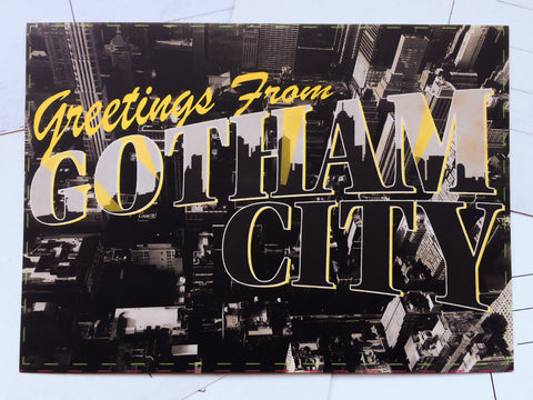 Carte Postale Gotham City
