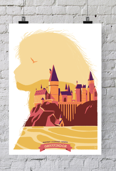 POSTER HARRY POTTER - GRYFFINDOR