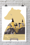 POSTER HARRY POTTER - HUFFLEPUFF