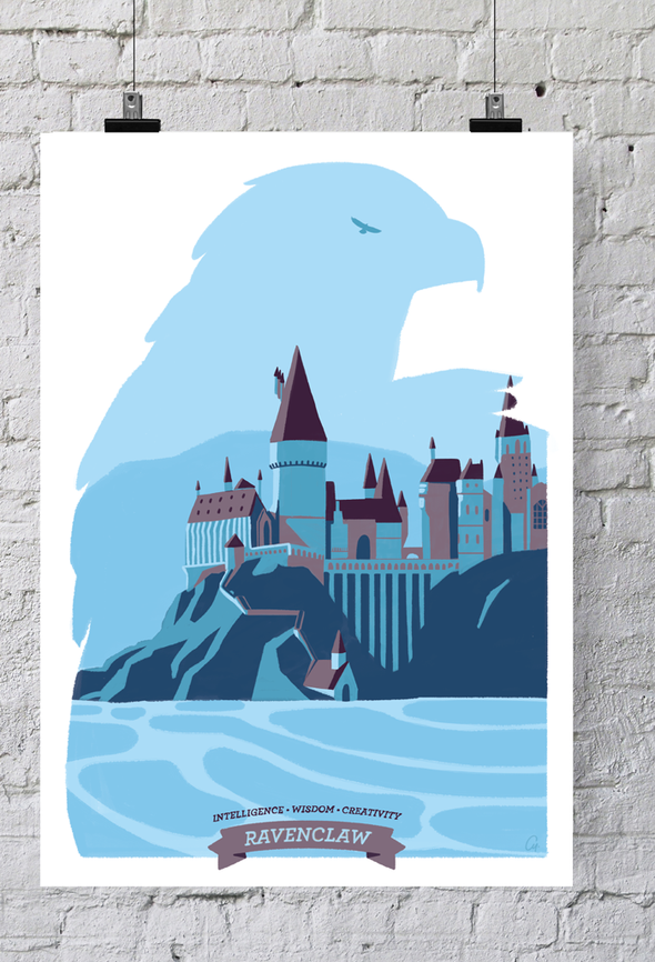 POSTER HARRY POTTER - RAVENCLAW