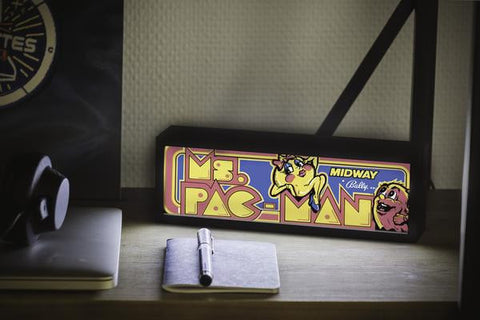 Ms Pac-Man Marquee