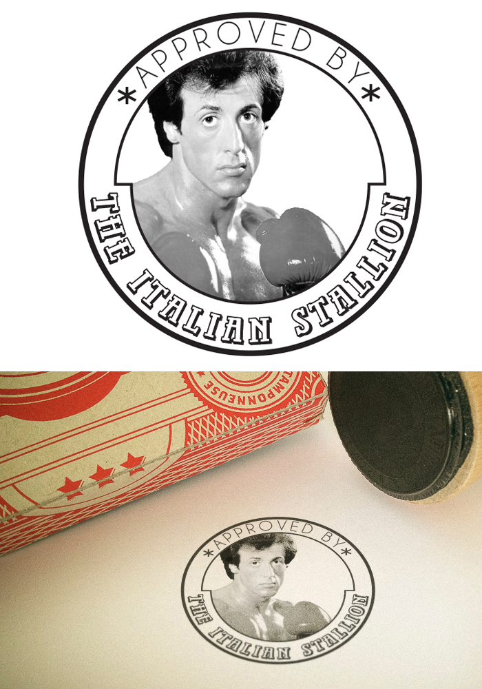 "Tampon Rocky ""The Italian Stallion"""