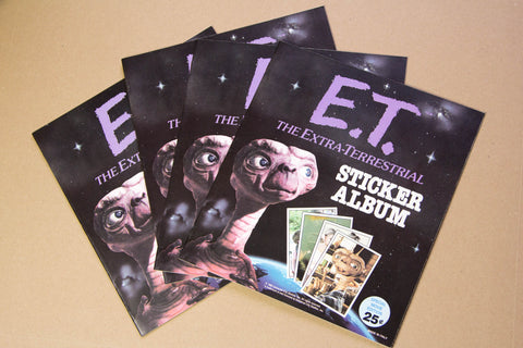 Album Panini E.T. + 70 stickers 1982