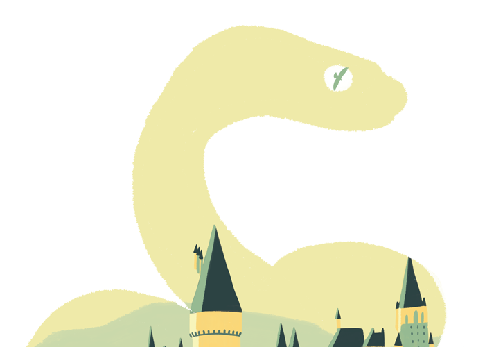 POSTER HARRY POTTER - SLYTHERIN
