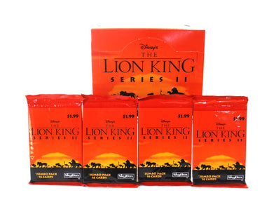 PAQUETS CARTES COLLECTION THE LION KING 1994 - 16 CARTES