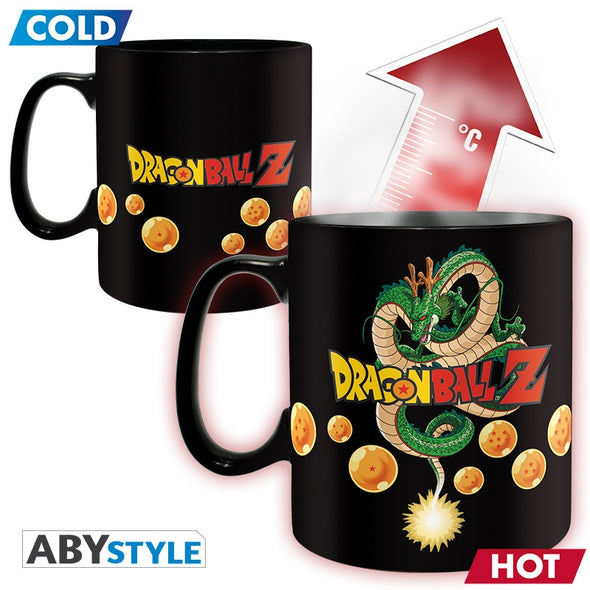 DRAGON BALL Z Mug thermo-réactif Vegeta Grand contenant