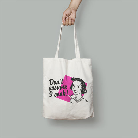 Assumptions Tote Bag