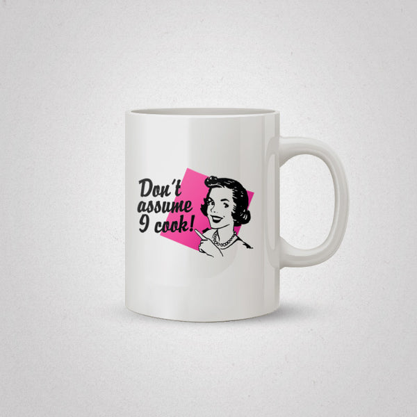 Assumptions Coffee Mug