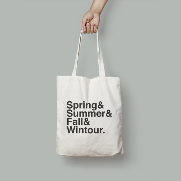 Coldest Wintour Tote Bag