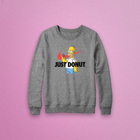 Just Donut® Crewneck Sweatshirt