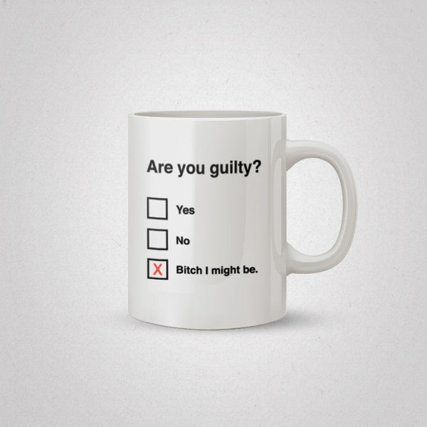 No More Questions Coffee Mug