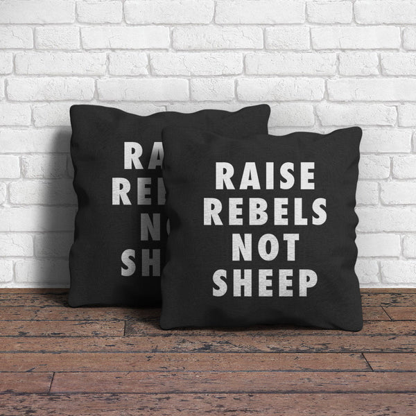 Raise Rebels Throw Pillow