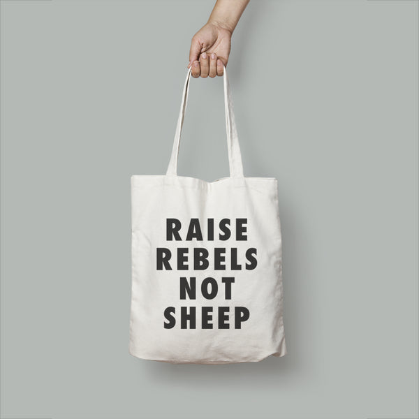 Raise Rebels Tote Bag