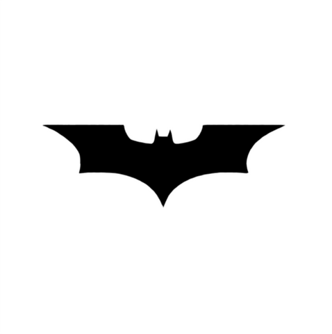 Batman - Highjacked Tattoos - Lasts Two-Weeks - 100% Organic - Gluten Free - Free shipping within the U.S.