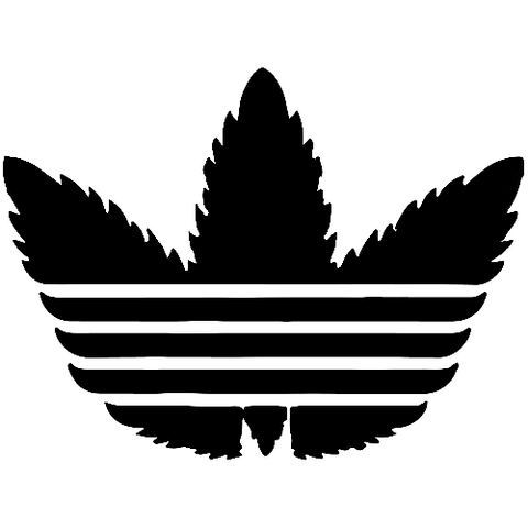 Pot Cannabis Leaf