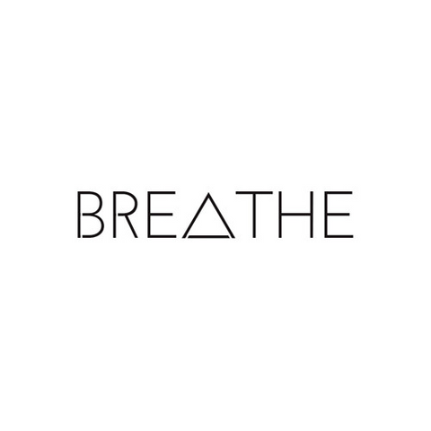 BREATHE - Highjacked Tattoos - Lasts Two-Weeks - 100% Organic - Gluten Free - Free shipping within the U.S.
