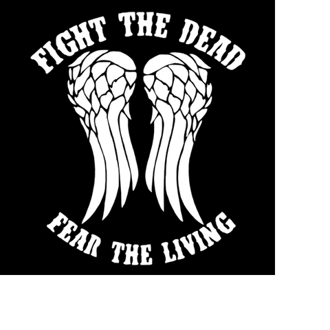 Fight the Dead - Highjacked Tattoos - Lasts Two-Weeks - 100% Organic - Gluten Free - Free shipping within the U.S.