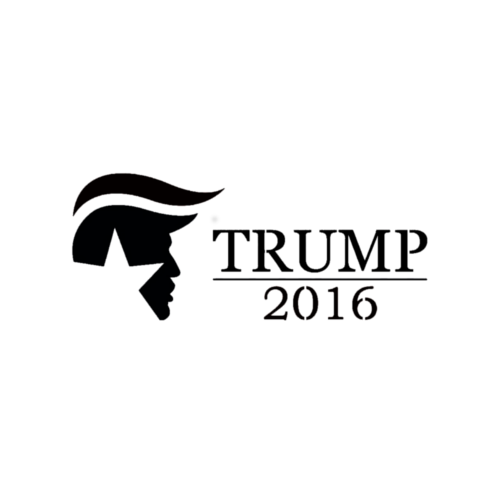 Trump 2016 (Presidential Logo) - Highjacked Tattoos - Lasts Two-Weeks - 100% Organic - Gluten Free - Free shipping within the U.S.