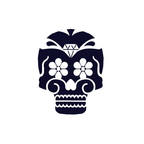 Ya‰ aburnee (Day of the Dead) - Highjacked Tattoos - Lasts Two-Weeks - 100% Organic - Gluten Free - Free shipping within the U.S.