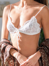 Marie Bra Top in Ivory