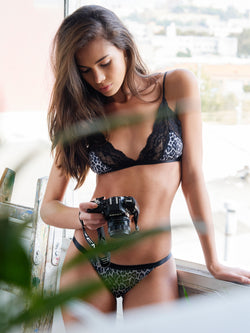 Olivia Brief in Animal Print