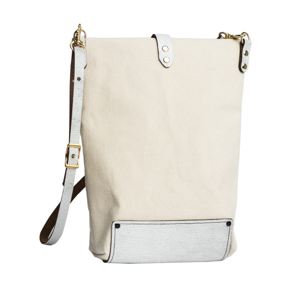 Crossbody Bag LIZ Pink/White