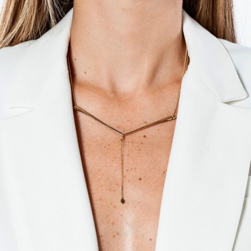 CANOPIAL MENOR necklace: 14kt rose gold