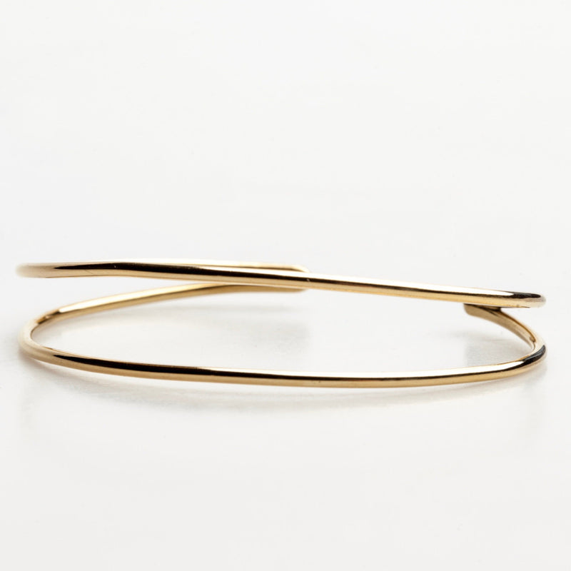 TOCAPUS Cuff: 14kt yellow gold