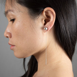 PENDULUM ADD-ON Earrings: sterling silver
