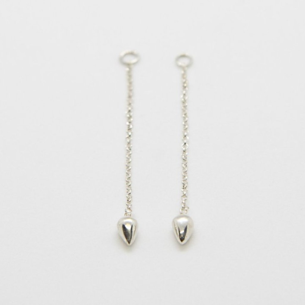 CONIC ADD-ON Earrings: sterling silver