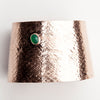 REPTILIA Cuff: Vermeil. Rose gold and silver