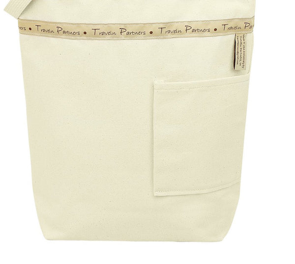 Canvas Bag Back Pocket