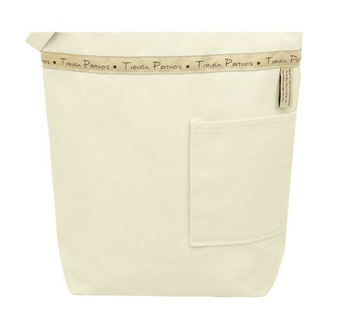 Canvas Bag - Back Pocket