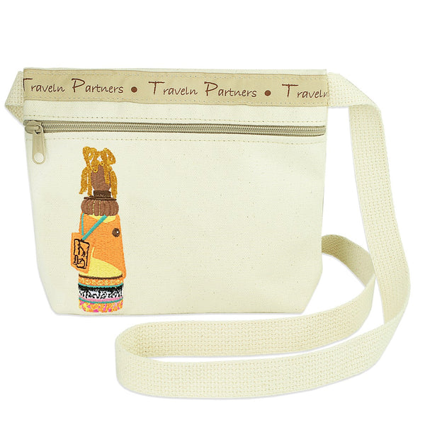 Canvas Cross Body Bag - Embracing Diversity with Fun and Frolic!