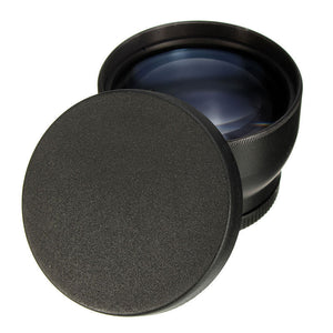 2X Telephoto Lens for DSLR Camera with 52MM Filter Thread