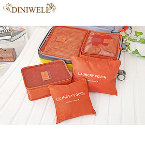 Travel Packing Cubes and Bags - 6 PCS