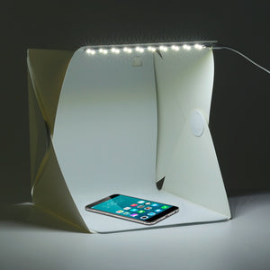 Portable Photography Studio Photo Box With Light
