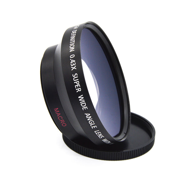 Deluxe Digital Wide Angle Lens Converter 62mm