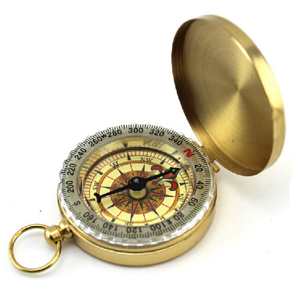 Classic Pocket Watch Style Compass