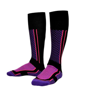 Unisex Quality Hiking Long Socks Wear-Resistant Warm Skiing