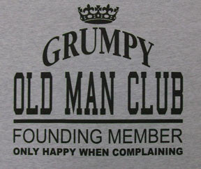 Short Sleeve Grumpy Old Man Club