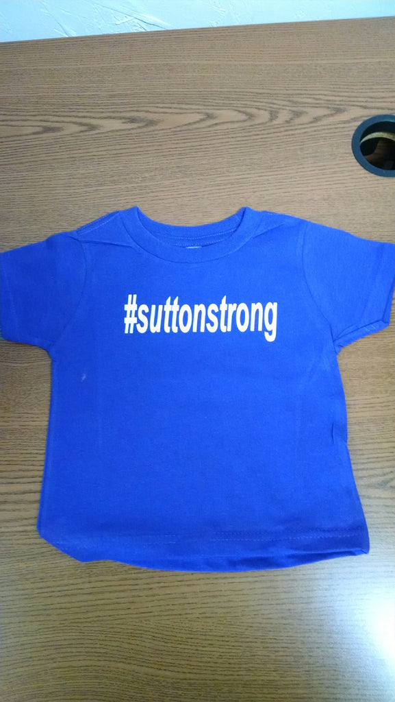#suttonstong Toddler Tee